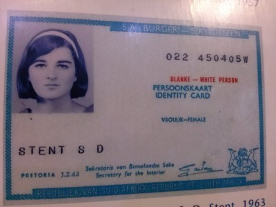 Apartheid ID Card