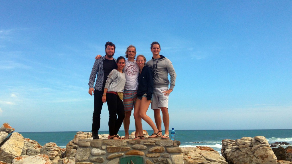 southern most tip of africa group photo