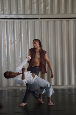 Dancers in the Langa Theater/Event Room