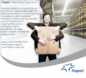 Fraport Cargo Services ad