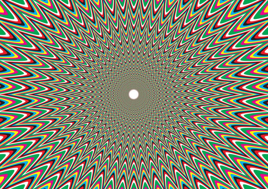 Картинка разных цветов иллюзия