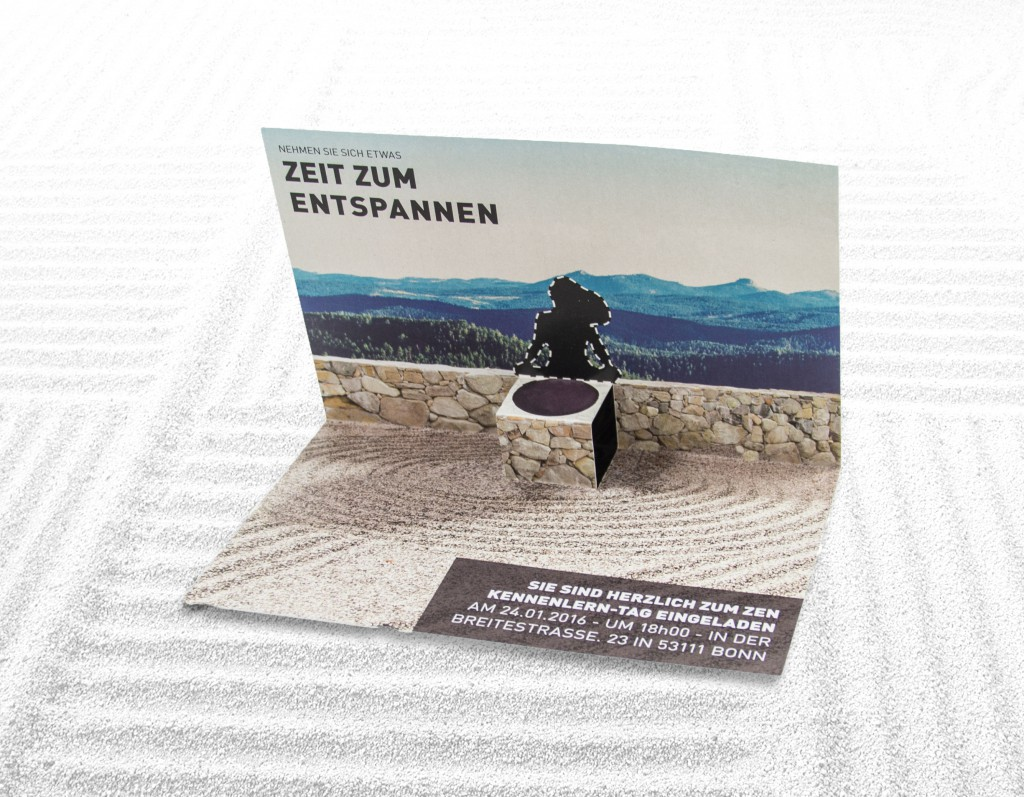 awesome flyer landscape architect Zen