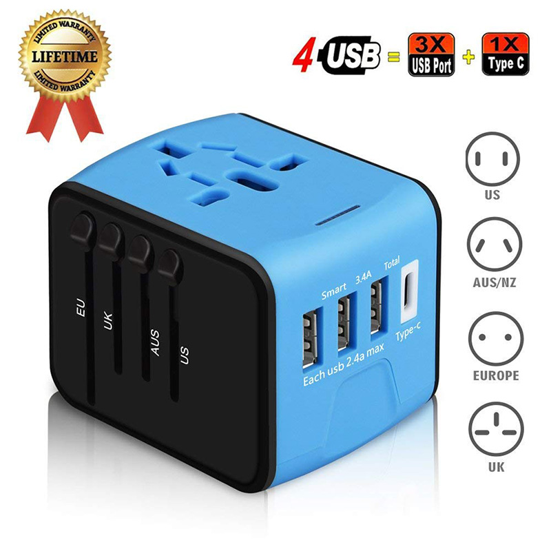 Travel adapter to charge your devices